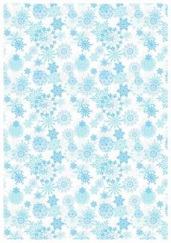 Frosty Sheet - Snow pattern - Bake&FUN