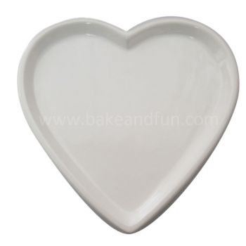 Heart shaped Tray 27cm rustic - Home Collection