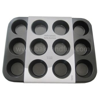 Motlle per coure 12 magdalenes o muffins. - Home Collection