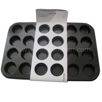 Motlle per coure 24 minimagdalenas o minimuffins. - Home Collection