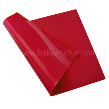 Tapete antiadherente de Silicona - Rojo - Home Collection