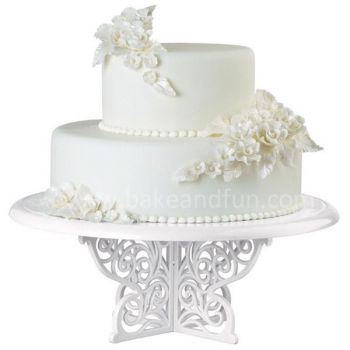 Wilton Fancy Scrolls Cake Stand 30cm 12 Inches